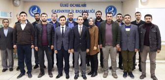 Halil Şahan: Gaziantep Ülkü Ocaklarının Yeni Yönetimi Bellirlendi