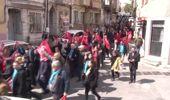 Fatih'te Sevgi Yürüyüşü Coşkusu