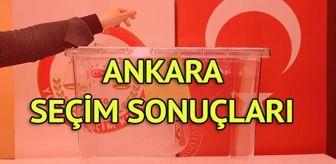 Tülin Oygür: Ankara Seçim Sonuçları: 31 Mart Yerel Seçim Sonuçları Son Dakika