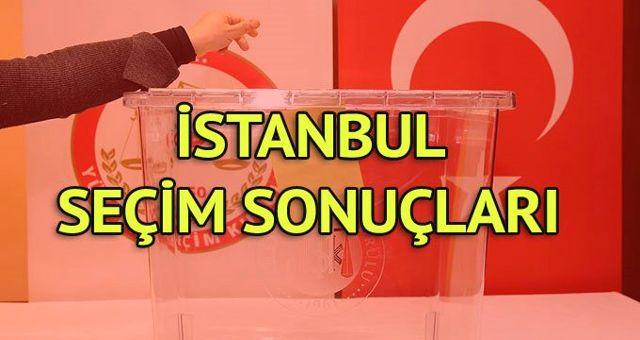İstanbul Seçim Sonuçları: 31 Mart Yerel Seçim Sonuçları Son Dakika