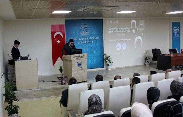 Alparslan Türkeş Rize'de Anıldı