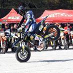 Ulubey Kanyonunda Motosiklet Gösterisi