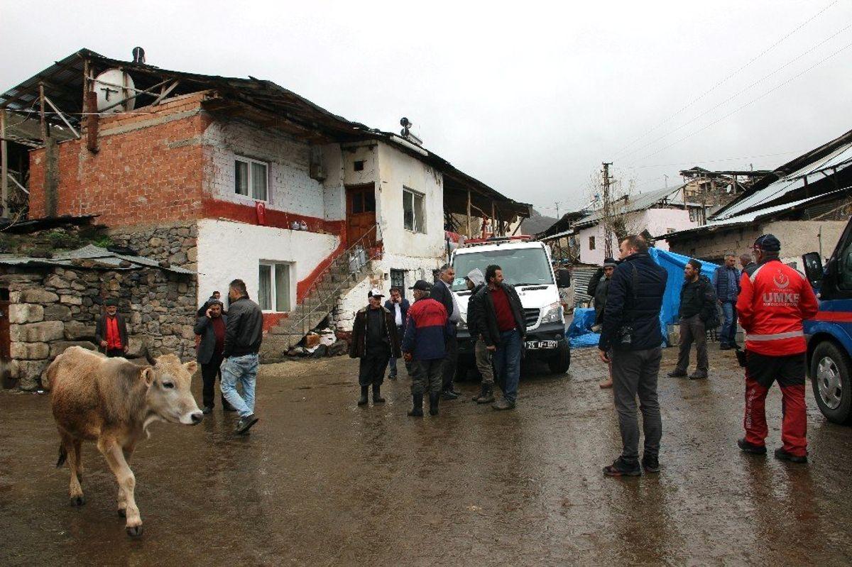 Erzurum'da Ahır Çöktü: 2 Ölü 6 Yaralı