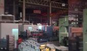 Makine Fabrikasının Boyahanesinde Yangın