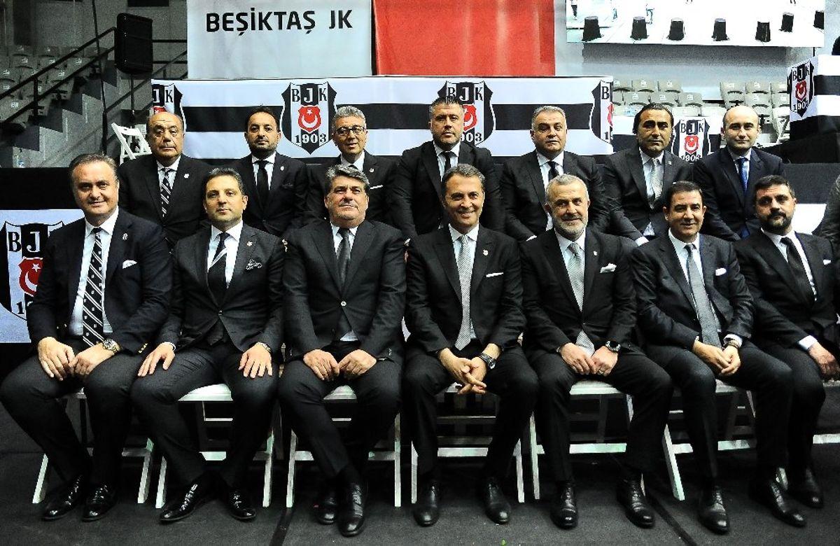 Beşiktaş'ta Yeni Yönetim Gaza Basıyor