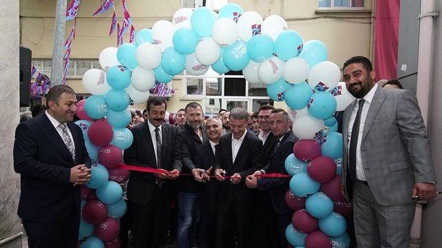 Trabzonsporlu Yöneticiler, Vakfıkebir Trabzonsporlular Derneğinin Yeni Binasının Açılış Törenine Katıldı