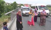 İstanbul- Kadınlar Uyuşturucu Satılıyor Diyerek Yol Kapattı