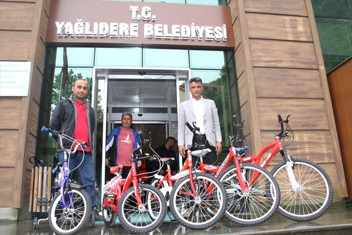 Yağlıdere'de çocuklara bisiklet hediye edilecek