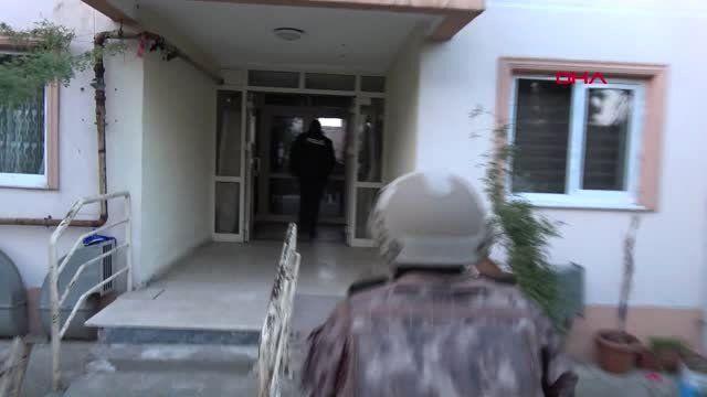 BURSA'DA 2 BİN POLİSLE DEV UYUŞTURUCU OPERASYONU