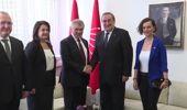CHP'ye bayram ziyaretleri - DSP ve Vatan Partisi