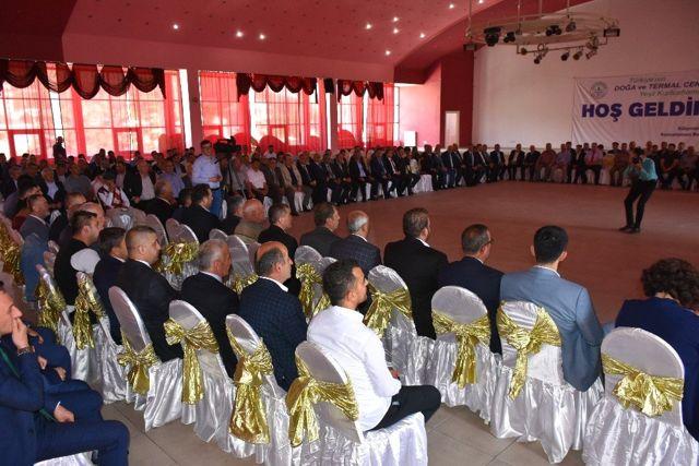 Kızılcahamam Belediyesinde bayramlaşma töreni düzenlendi