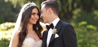 Mesut Özil ve Amine Gülşe'nin düğünü ünlüler geçidine döndü