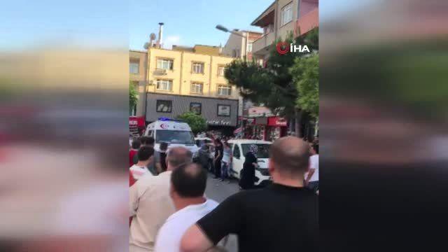 Esenler'de cinnet getiren adam eşini ve çocuklarını vurup intihar etti
