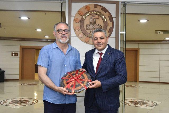 İspanyol Başkandan MTSO'ya ziyaret