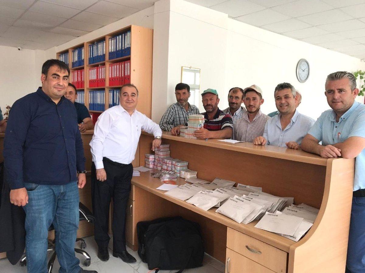 Kayseri Şeker'den Pancar Çiftçisine 53 Milyon Çapa Avansı