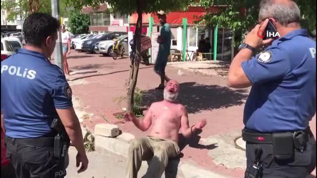 Antalya'da alkollü şahıstan gasp şoku