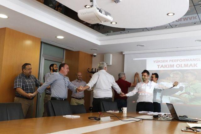 BAKKA çalışanlarına takım çalışması eğitimi