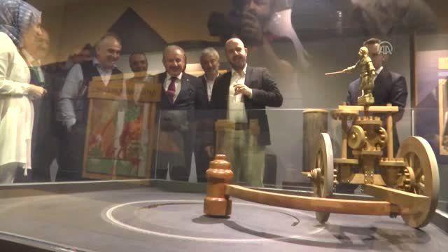TBMM Başkanı Şentop, Maslak'taki İstanbul Cezeri Müzesi'ni ziyaret etti (2)