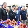 Tarım ve Orman Bakanı Pakdemirli, Bayrampaşa Hali'nde incelemelerde bulundu