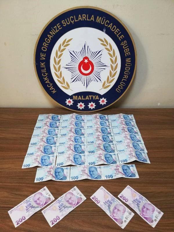 Malatya'da sahte paralarla yakalanan 2 kişiye tutuklama