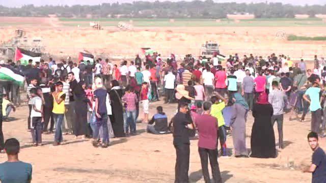 Gazze sınırındaki