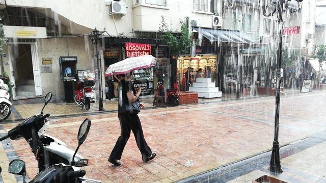 Aydın'da ıslak Haziran