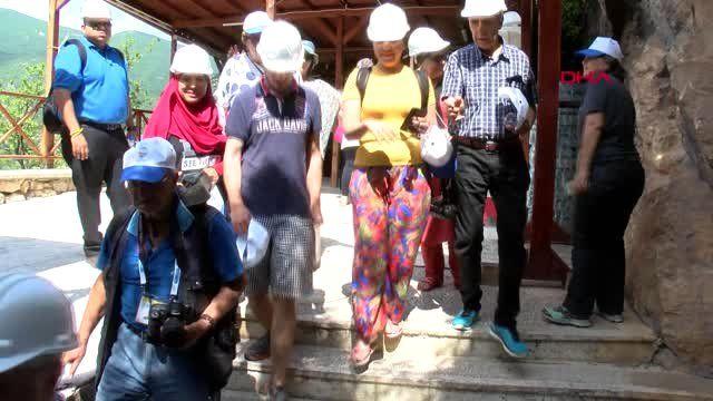 TOKAT 30 ülkeden turizm acentası yetkilileri Tokat'ı gezdi