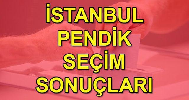 23 Haziran 2019 İstanbul seçim sonuçları: Pendik son durum!