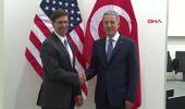 Bakan Akar, ABD Savunma Bakan Vekili Esper ile bir araya geldi