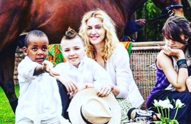 Madonna Çocuklarının Güvenliği İçin Endişeli