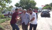 BURSA Otomobilin çarptığı traktördeki baba ve iki oğlu yaralandı