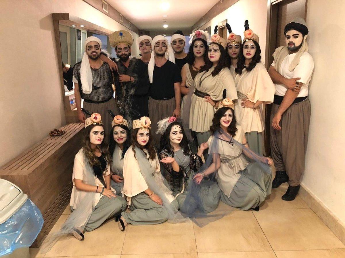 HKÜ Tiyatro Topluluğu 'İstanbul Efendisi'yle tam not aldı