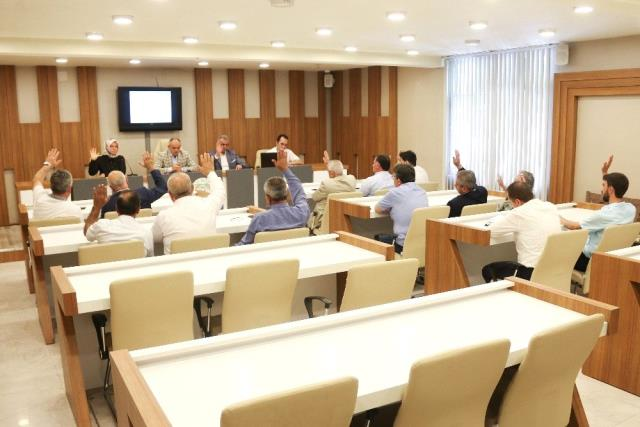 Yahyalı Belediyesi'nin Temmuz ayı olağan meclis toplantısı yapıldı