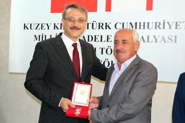 Bingöl'de Kıbrıs Barış Harekatı gazilerine madalya