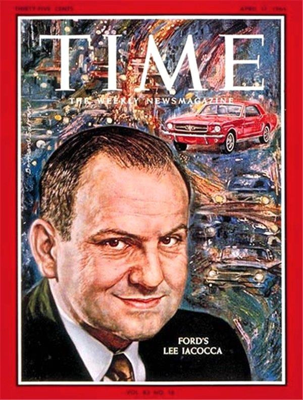 Lee Iacocca Mustang >> Ford Mustang In Babasi Lee Iacocca 94 Yasinda Vefat Etti