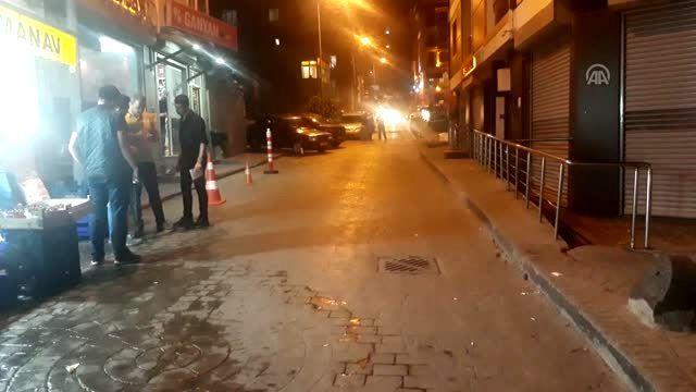 İstanbul Beyoğlu'nda motosiklet çetesi terör estirdi!