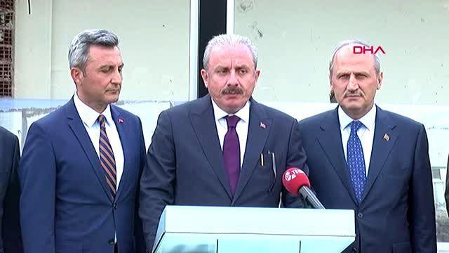 MECLİS BAŞKANI ŞENTOP TÜRKSAT'I ZİYARET ETTİ