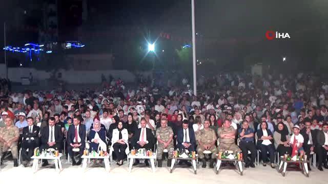 Şırnak'ta Demokrasi Nöbeti'ne Binlerce Kişi Katıldı