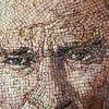 Suriyeli sanatçıdan mozaikle Atatürk portresi