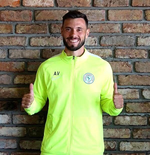 Çaykur Rizespor'un yeni transferi Amedej Vetrih kampa katıldı