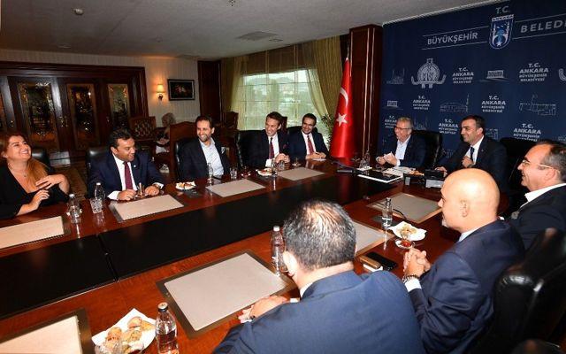 İş dünyasından Başkan Yavaş'a ziyaretler devam ediyor