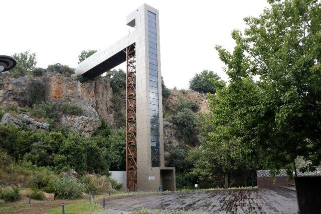 Panoramik asansörler kullanıma açıldı