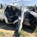 Konya'da hemzemin geçitte kaza: 4 yaralı