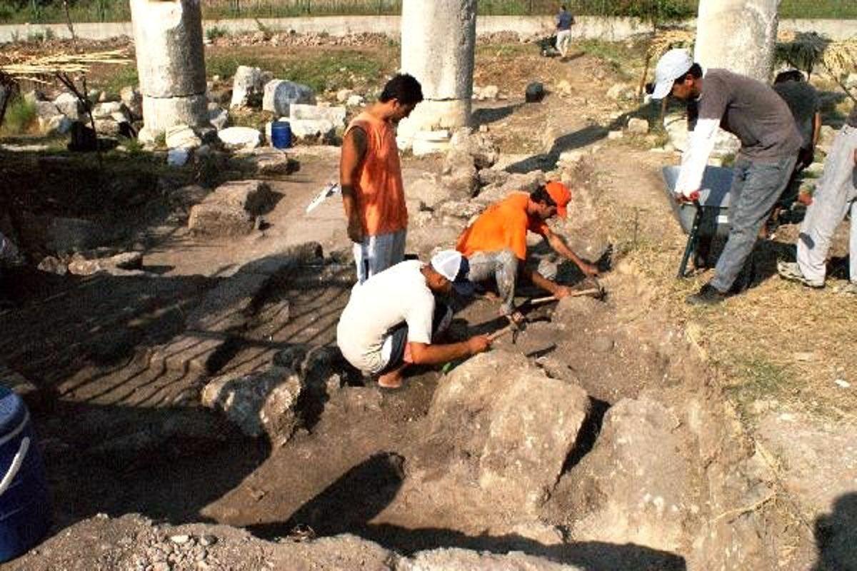 Soli Pompeiopolis'te tarih gün ışığına çıkıyor