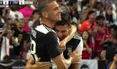Ronaldo ve Merih Demiral'in gol sevinci
