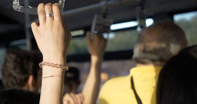 Halk otobüsünde elle tacize 2 yıl 1 ay hapis!