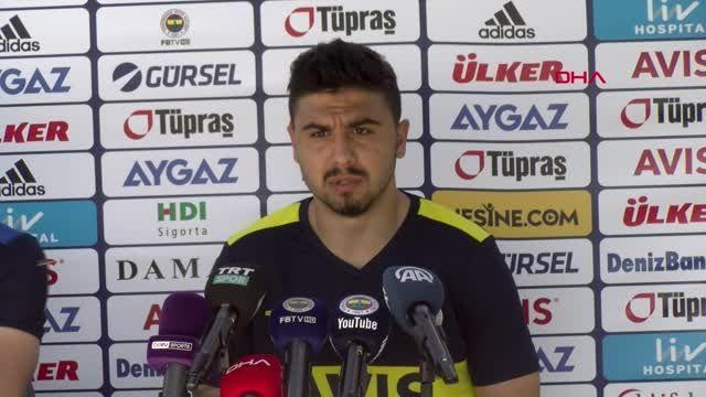 SPOR Ozan Tufan Fenerbahçe'yi layık olduğu yere çıkaracağız