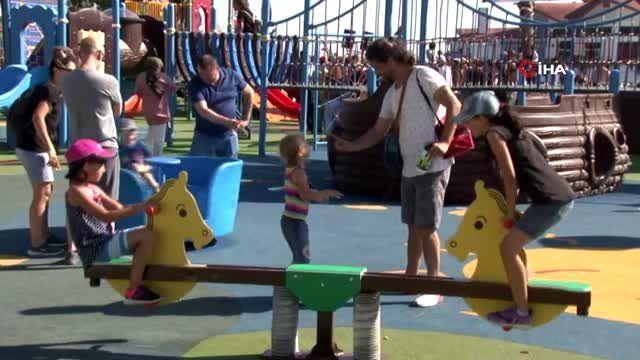 İsmini çocukların belirlediği 'Turist Ömer Parkı' açıldı
