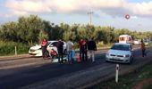 Otomobilin altında kalan motosikletli hayatını kaybetti