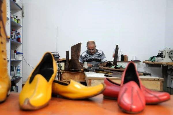 Tarihi film ve dizi yıldızlarının ayakkabıları Bursa'dan